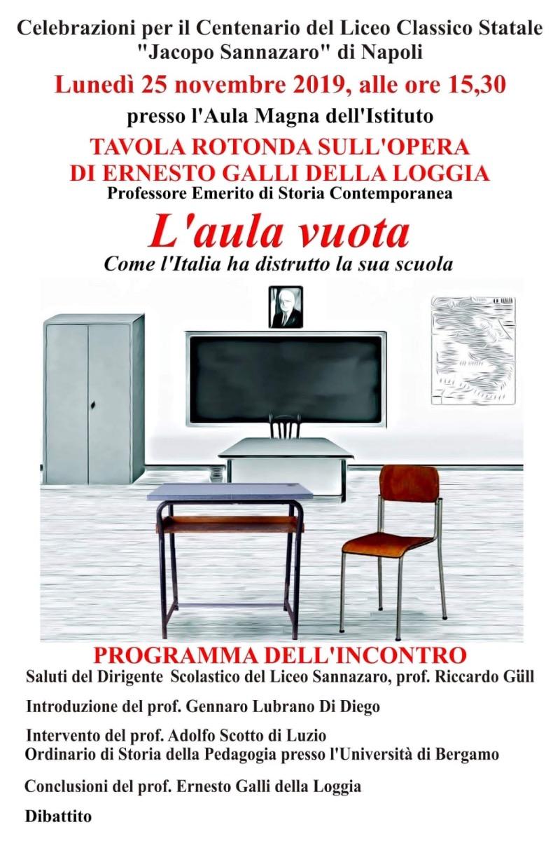 TAVOLA ROTONDA SULL'OPERA DI ERNESTO GALLI DELL...