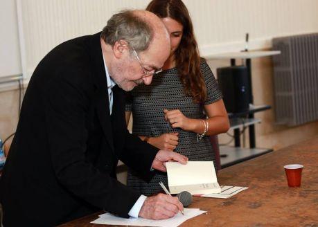 François Weyergans incontra il Liceo Sannazaro