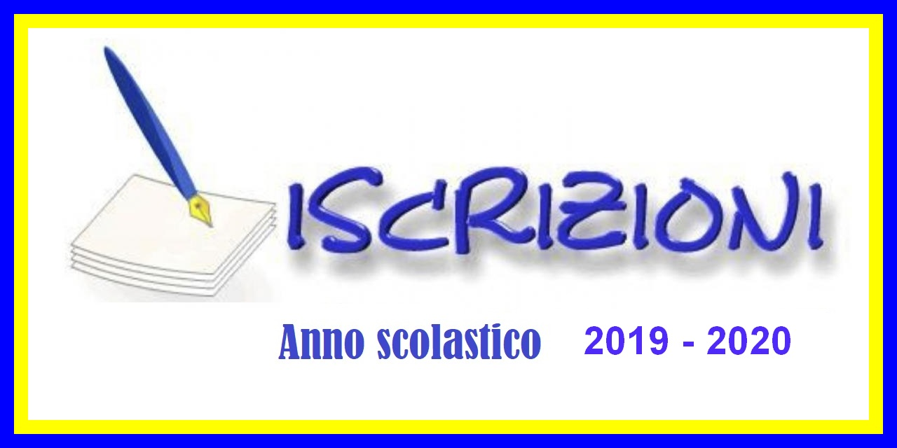 CONFERME D'ISCRIZIONE PER L'A.S. 2019/2020