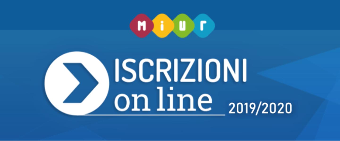 ISCRIZIONI ONLINE 2019/2020